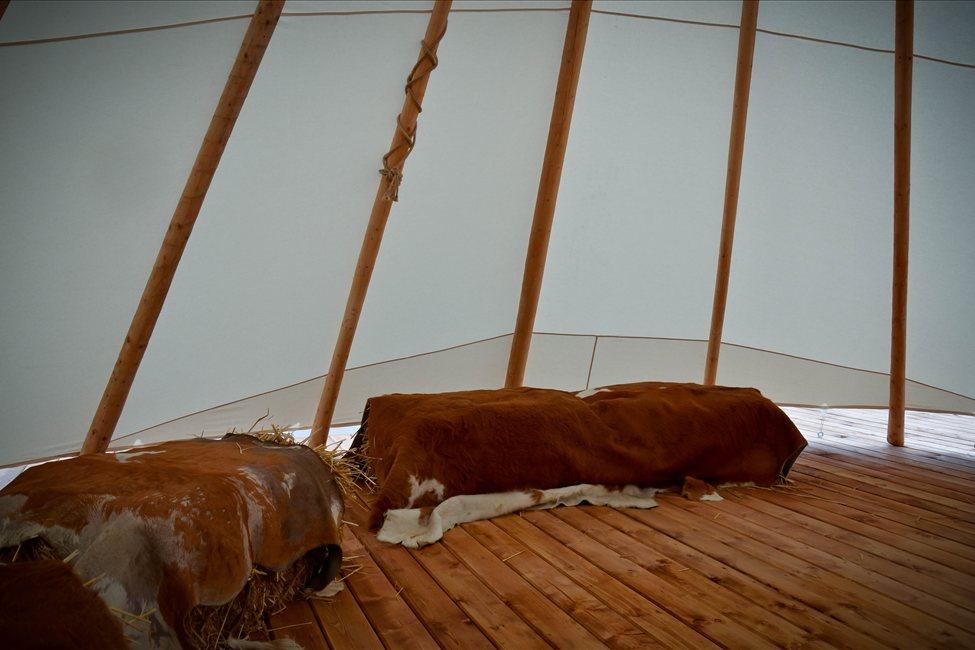Innen Zelt