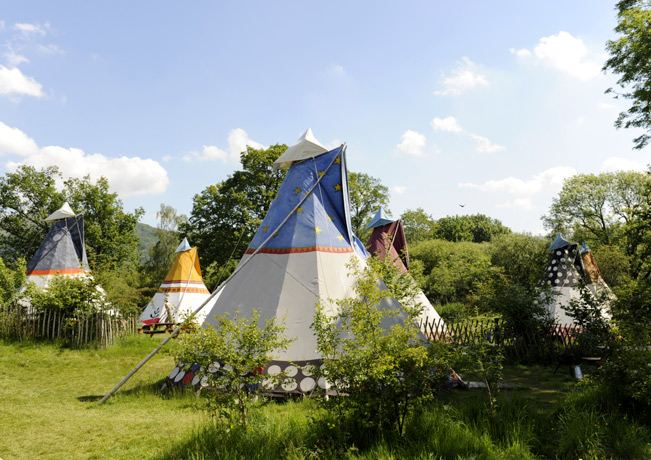 Camping in der Wildnis